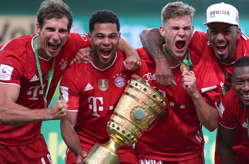 Robert Lewandowski score a brace to see Bayern Munich Clinch their 20th German cup.