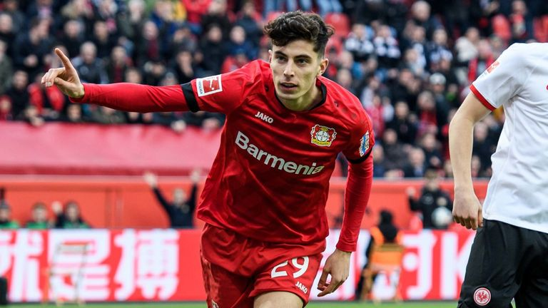 Kai Havertz: Playmaker linked with Chelsea 'can leave Leverkusen this summer'