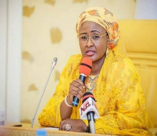 """""""Covid-19 Is A Sign that God Is Not Happy With Us.""""- Aisha Buhari"""