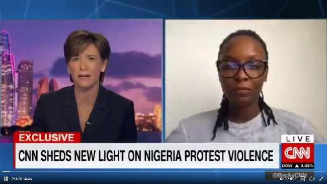 #EndSARS: We Stand By Our Reports – CNN Tells FG