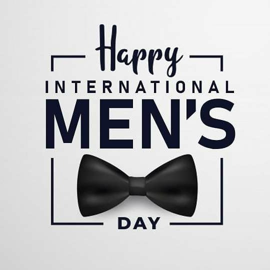 International Men's Day: Celebrating The Male Gender.