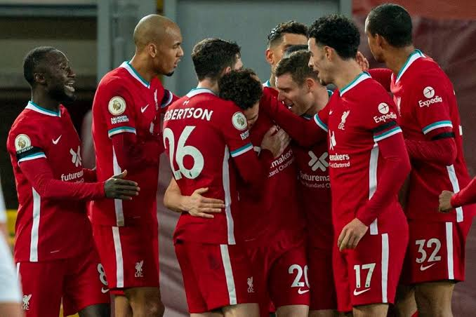 Liverpool Break Home Record With Win Against Leceister city