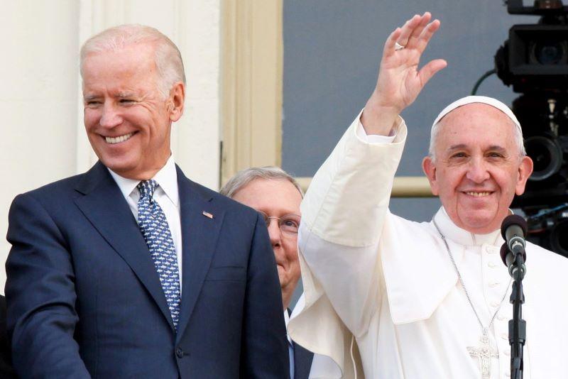 Pope Francis Congratulates Biden