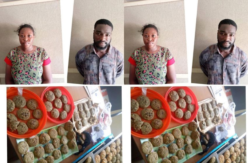 NDLEA arrests two undergraduates for selling drug-laced cookies
