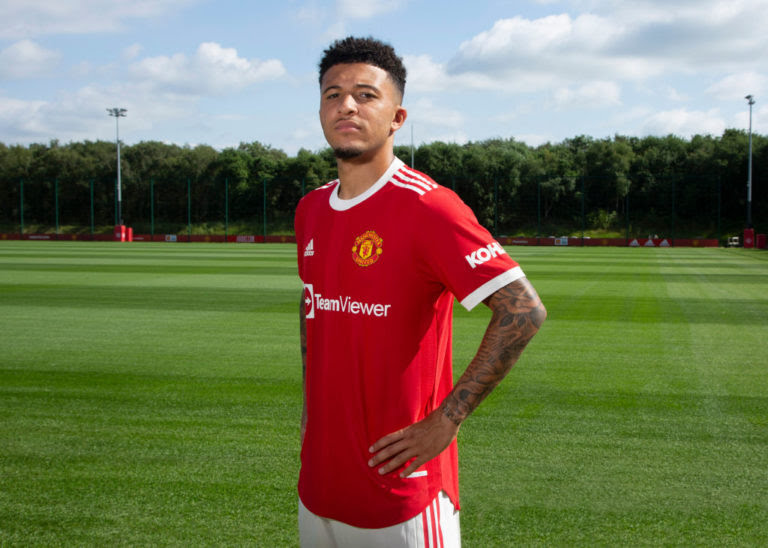 United fans welcome Sancho to Manchester United