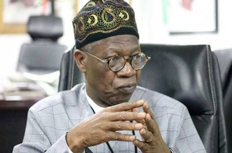 Lai Mohammed says Twitter has agreed to 70% of Nigeria's demands