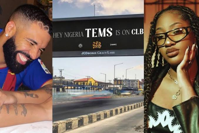 Tems to feature on Drake's CLB album