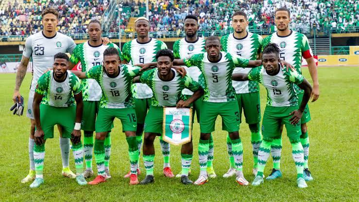 Nigeria remains 34th in lastest FIFA ranking