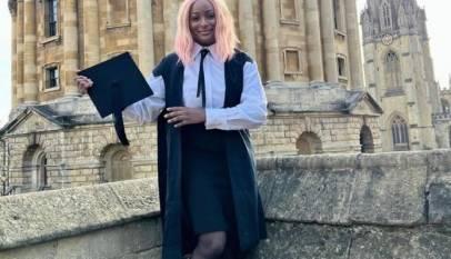 DJ Cuppy matriculates at Oxford University
