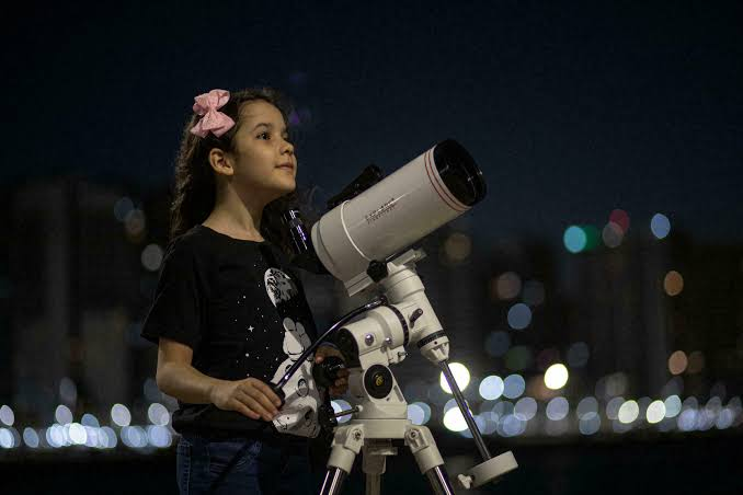 8-year old Brazilian Nicole Oliveira named world's youngest astronomer